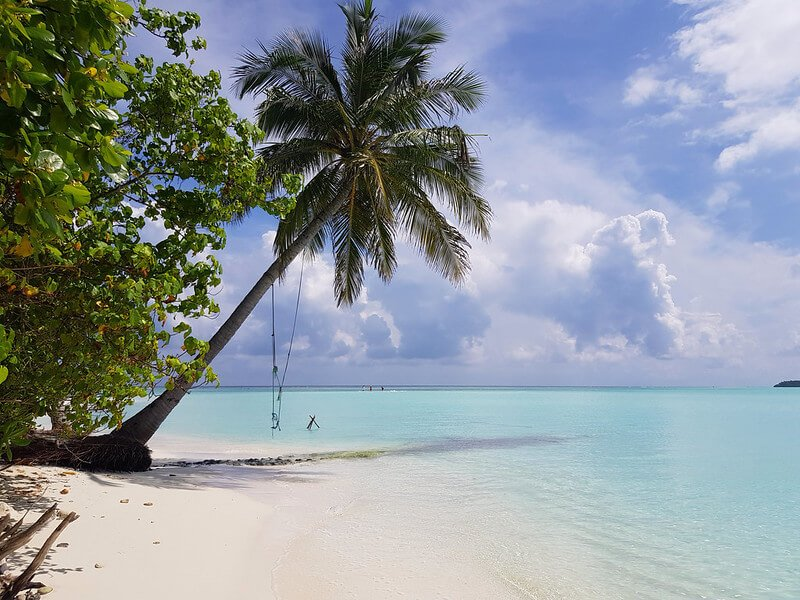 najpiękniejsza lokalna wyspa na Malediwach