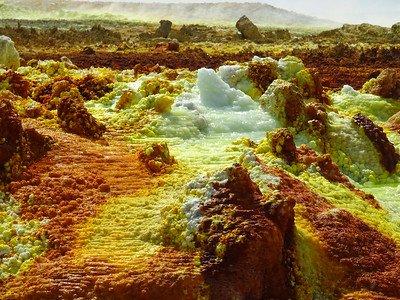 jak zorganizować wycieczkę na wulkan Dallol w Etiopii