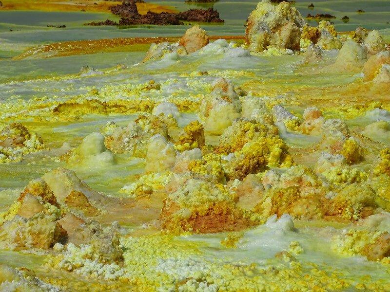 wycieczka na wulkan Dallol w Etiopii