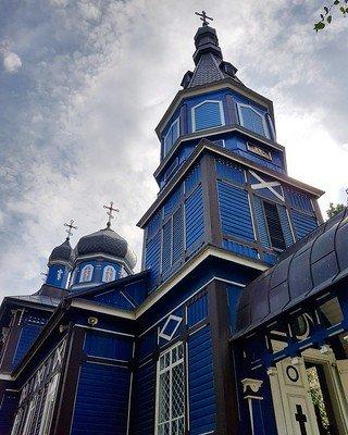 kolorowe cerkwie Podlasia