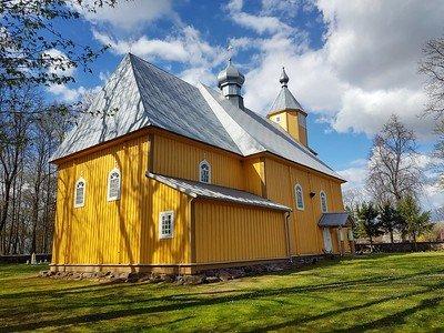 szlak drewnianych cerkwi na Podlasiu
