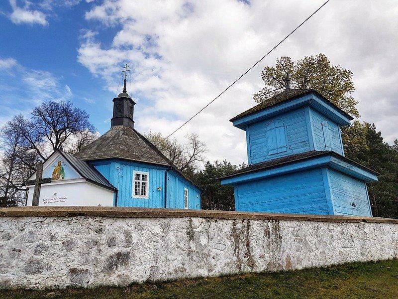 kolorowe cerkwie na Podasiu