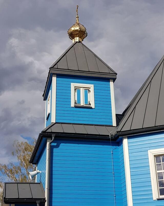 kolorowe cerkwie na Podlasiu
