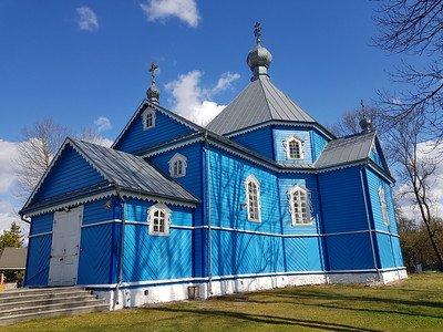 błękitne cerkwie na Podlasiu