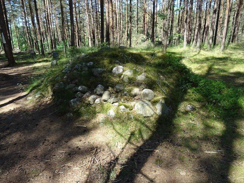 kręgi kamienne w Węsiorach