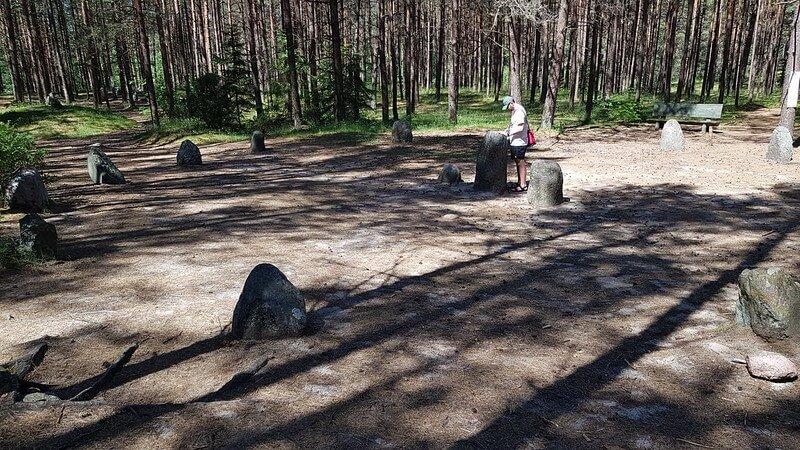 kręg kamienne w Węsiorach