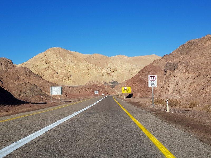 pustynia Negew koło Ejlatu