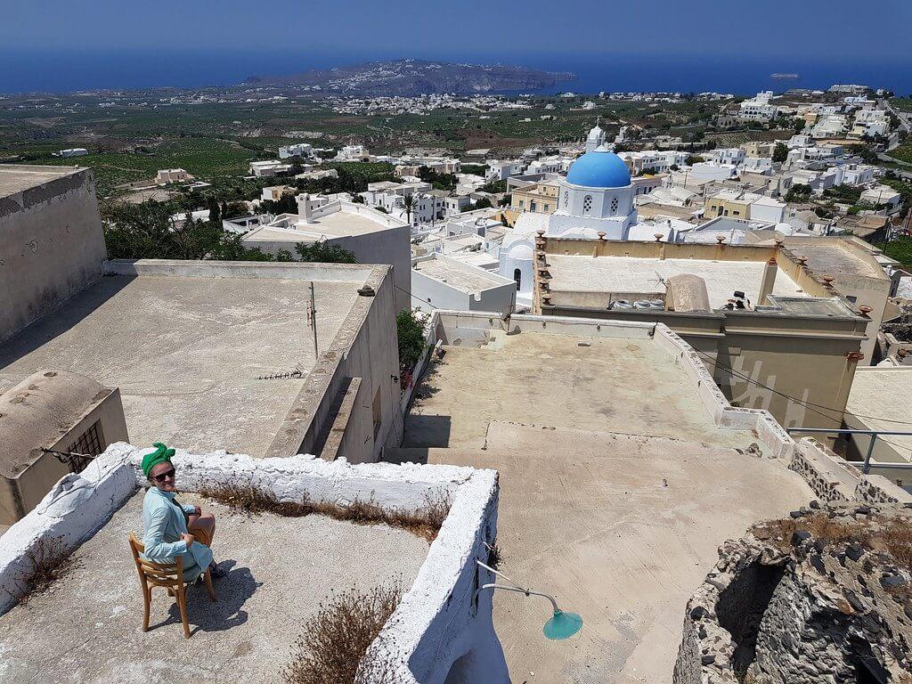 Santorini na własną rękę