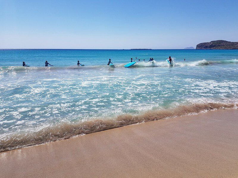 surfing na Krecie