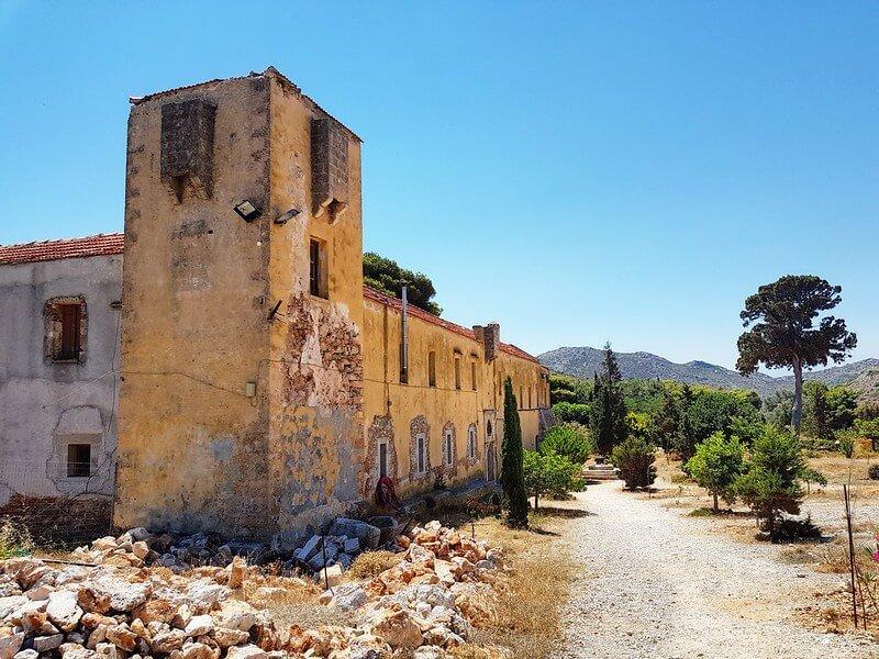 klasztory na Krecie