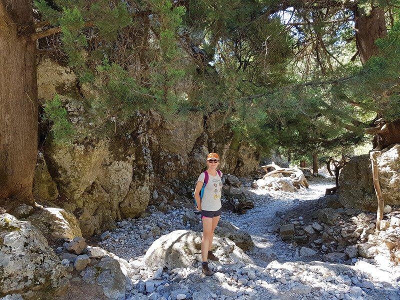trekking na Krecie