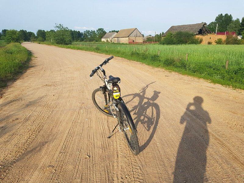 rowerem wzdłuż Narwi