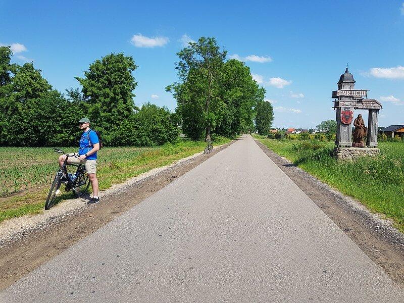 szlak rowerowy Tykocin