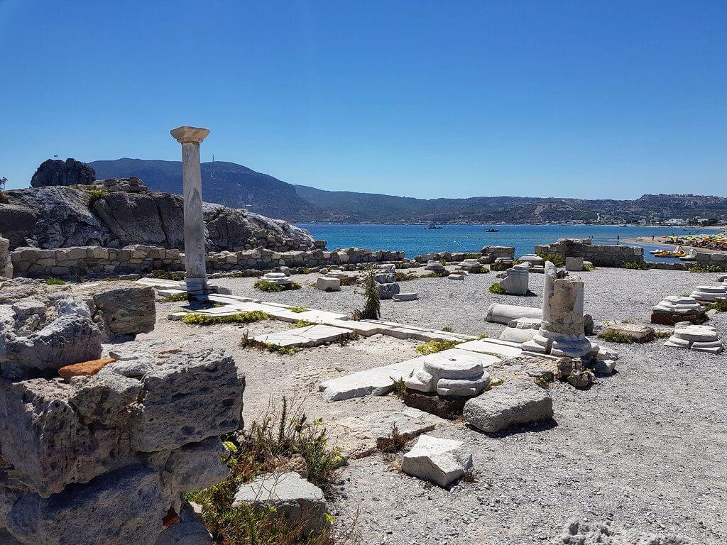zabytki na wyspie Kos