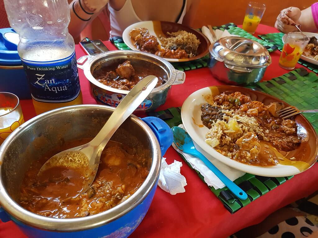 gdzie zjeść w Jambiani