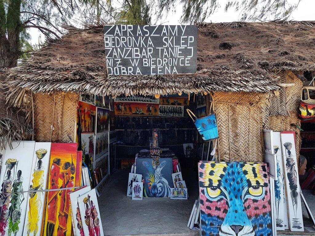 pamiątki z Zanzibaru