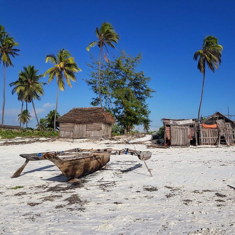plaże na Zanzibarze