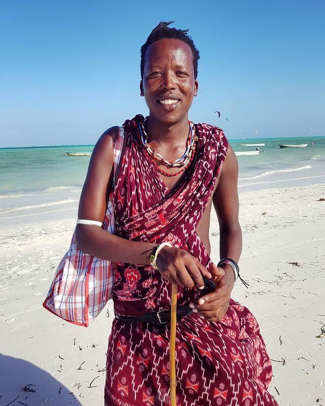 Masajowie na Zanzibarze