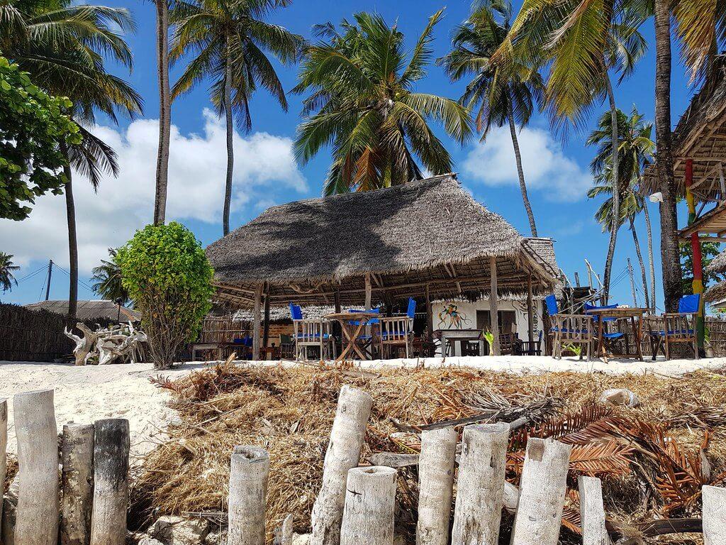 lokalna restauracja na Zanzibarze