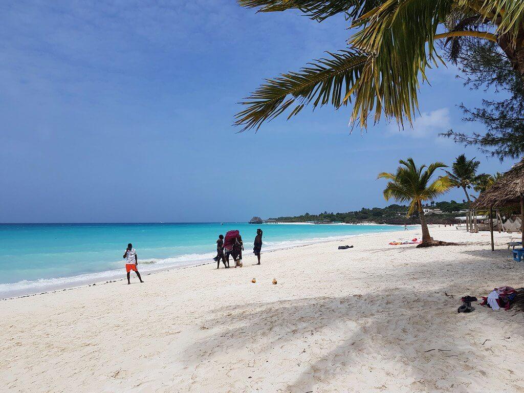 gdzie plażować na Zanzibarze