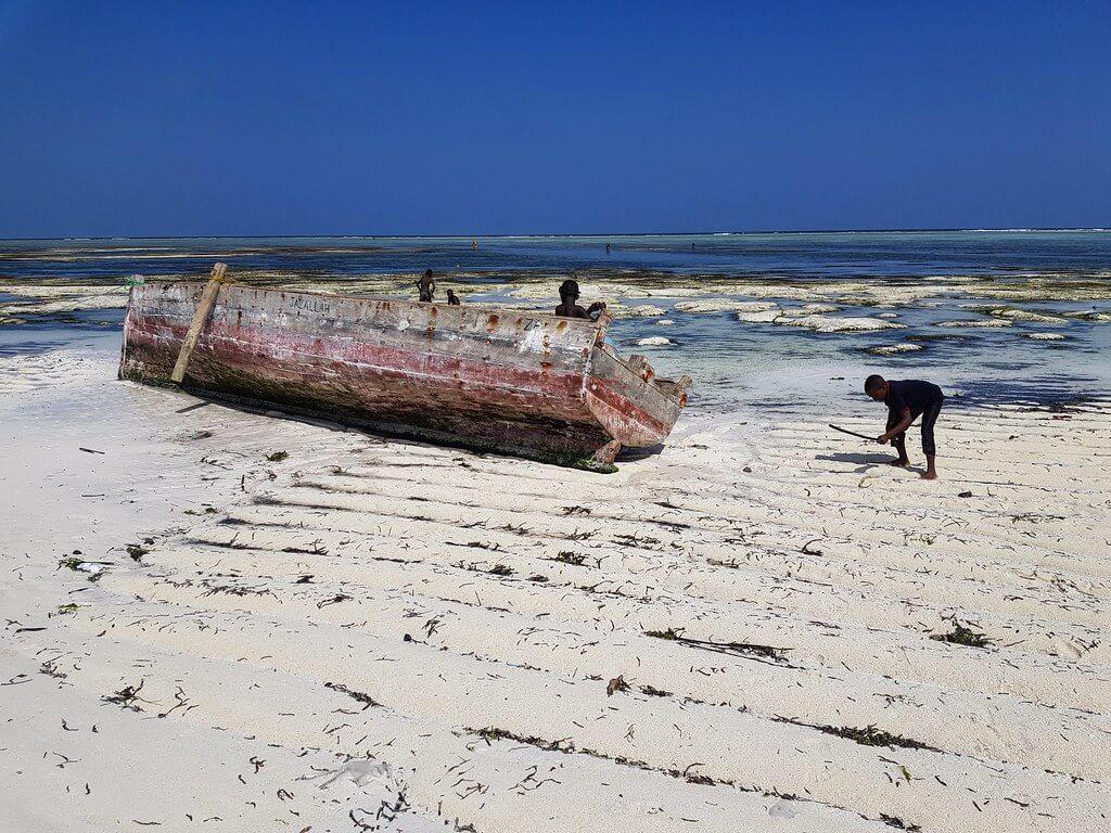 wioski na Zanzibarze