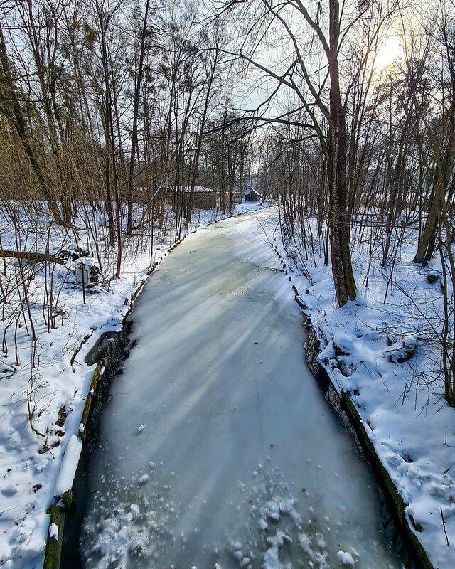 zimowy weekend na Mazurach