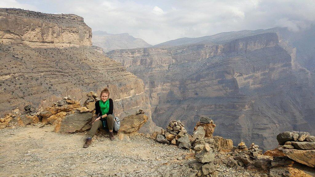 trekking w Omanie