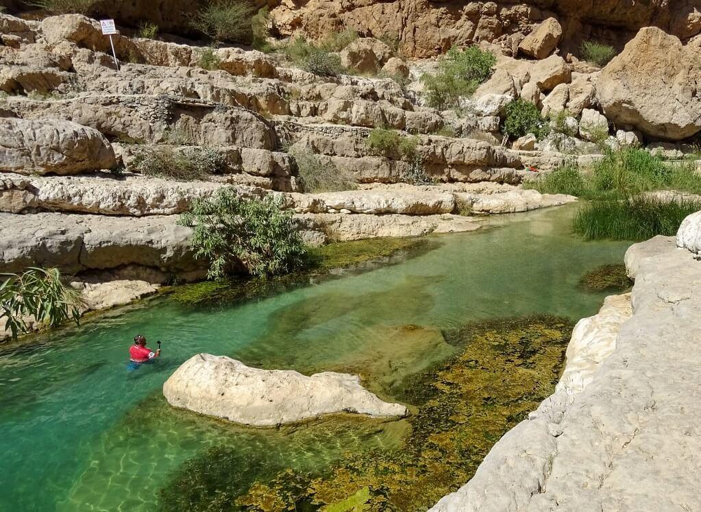 najpiękniejsze wadi w Omanie