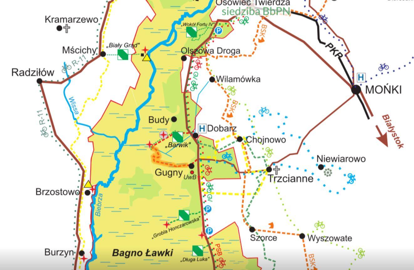 trasy rowerowe na Podlasiu