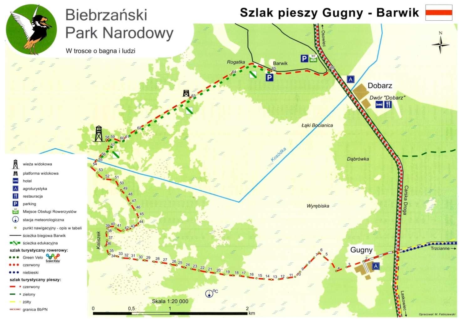 Carska Droga w Biebrzańskim Parku Narodowym