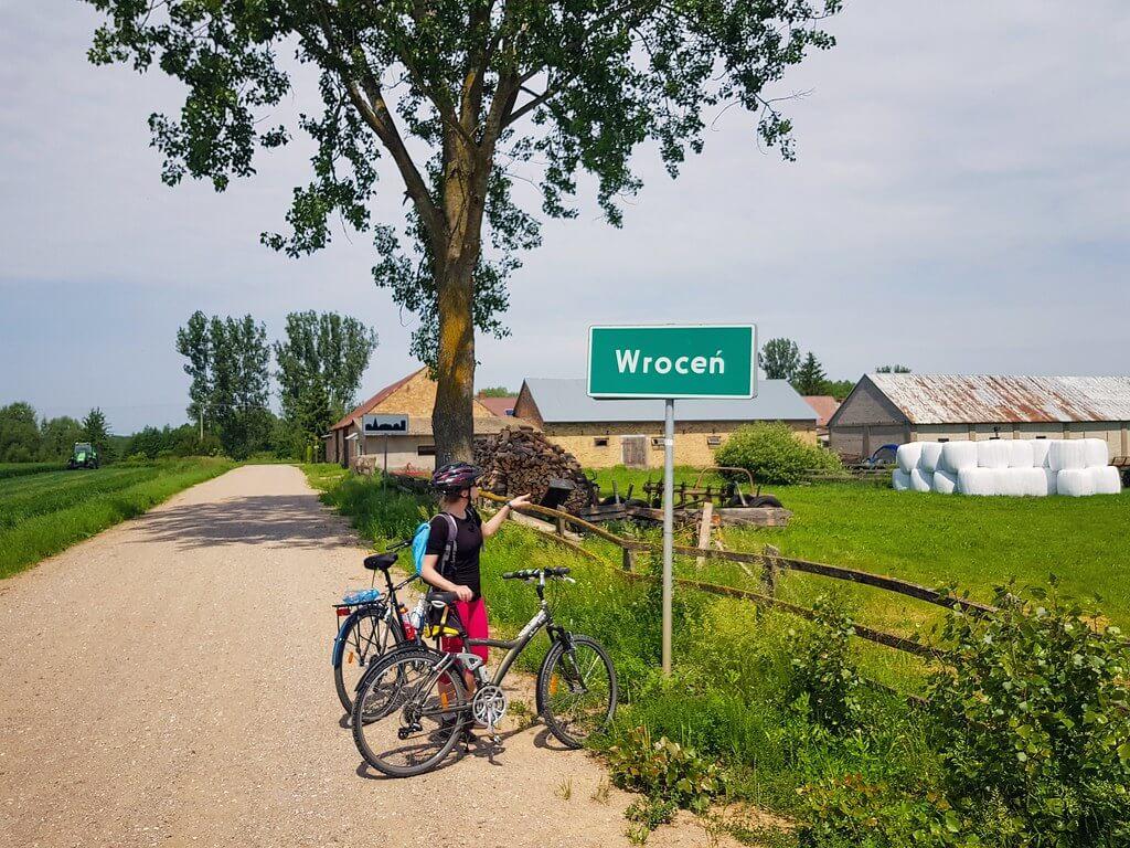 szlak rowerowy w Dolinie Biebrzy