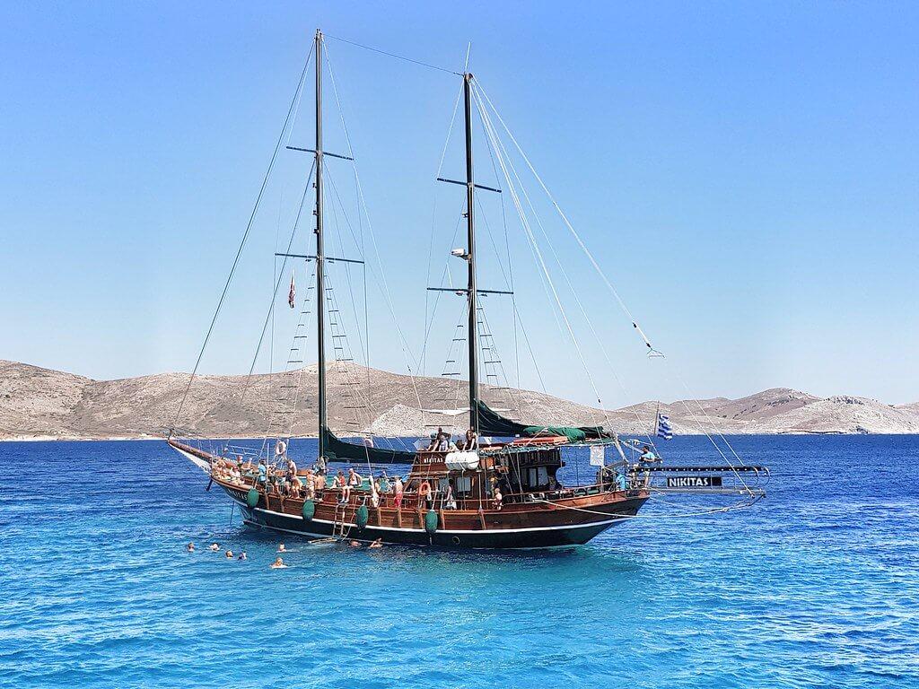 wycieczka 3 wyspy z Kos